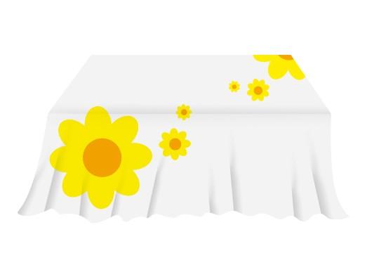 bedruckte tischdecke bestellen digitaldruck grossformatdruck