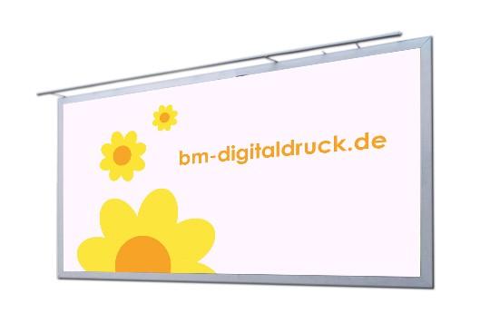 Großes Plakat für Werbewände digital drucken bestellen