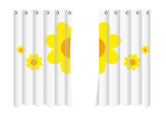 bedruckten vorhang bestellen digitaldruck