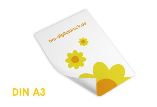 Plakat Naturpapier im Digitaldruck bestellen