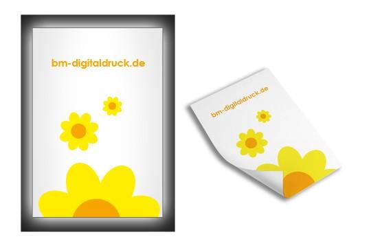 Lichtkastenfolie selbstkleben digitaldruck bestellen