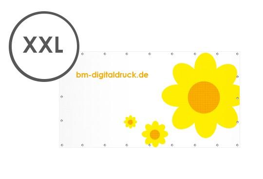 Werbebanner gross xxl Digitaldruck drucken lassen extragross mesh